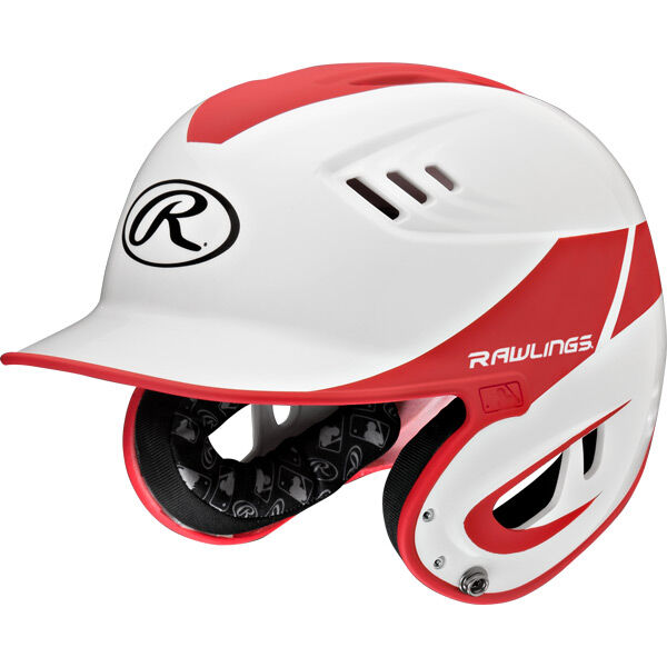 Velo Junior Batting Helmet Scarlet