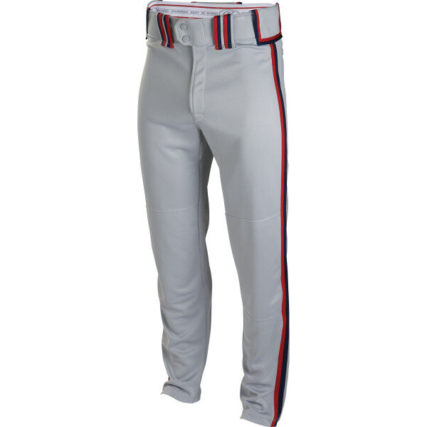 Youth Semi-Relaxed Pant Blue Gray/Scarlet/Navy