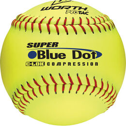 12 in Blue Dot Softballs (YS2RS)