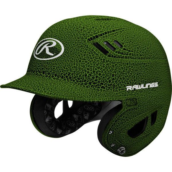 Velo Senior Batting Helmet Neon Green/Black
