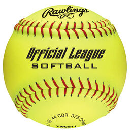 "Official League Recreational 11"" Softballs (10 & Under)"