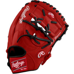White/Red Custom Glove