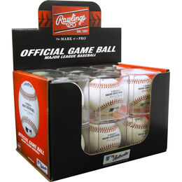 MLB Baseball in Display Cube
