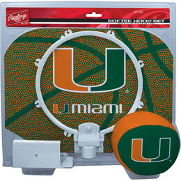 NCAA Miami Hurricanes Hoop Set