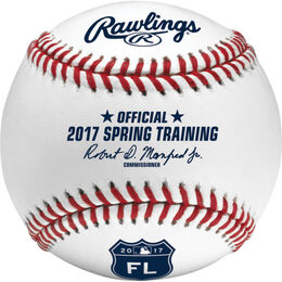 MLB 2017 Spring Training Florida Baseballs