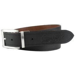 Reversible Tan, Black Leather Belt