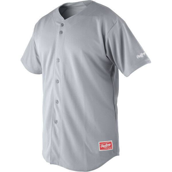 Adult Short Sleeve Jersey Blue Gray