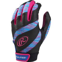 Eclipse Girl's Softball Batting Gloves