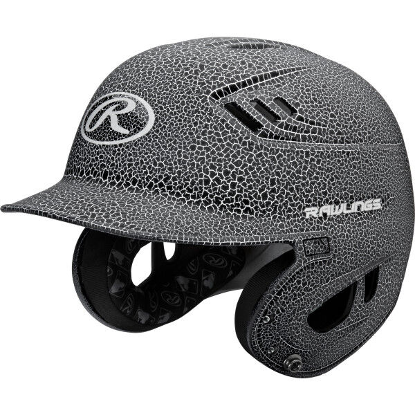Velo Junior Batting Helmet White/Black