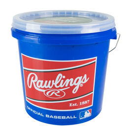Bucket of 24 R12U Game Baseballs