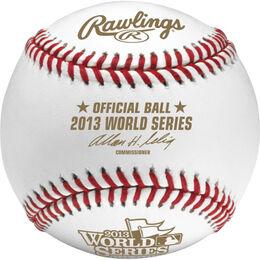 MLB 2013 World Series Baseballs
