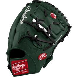 Green/Black Custom Glove