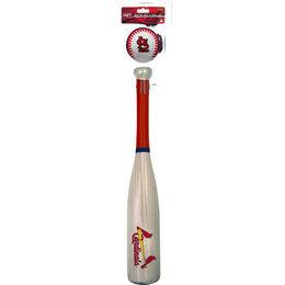 MLB St Louis Cardinals Bat and Ball Set