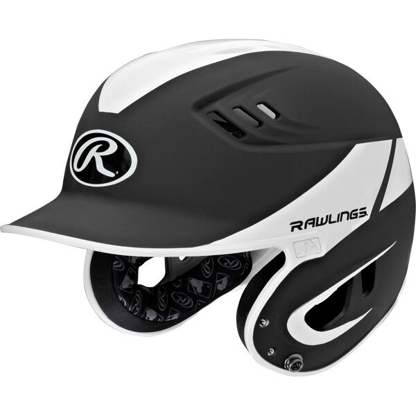Velo Senior Batting Helmet Black