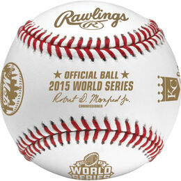 MLB 2015 World Series Dueling Baseball