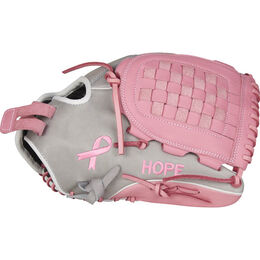 Heart of the Hide 12.5 in Breast Cancer Awareness Fastpitch Glove