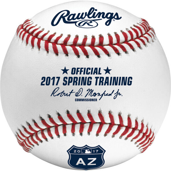 MLB 2017 Spring Training Arizona Baseballs