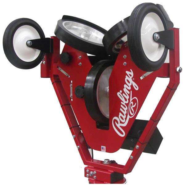 Spin Ball Pro 3 Wheel Baseball Pitching Machine