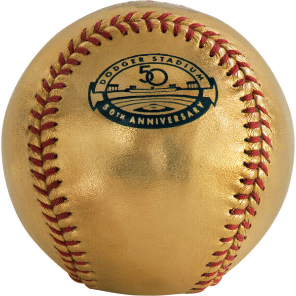 24K MLB 2015 Los Angeles Dodgers Anniversary Baseball