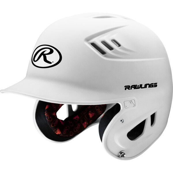 Velo Senior Batting Helmet White