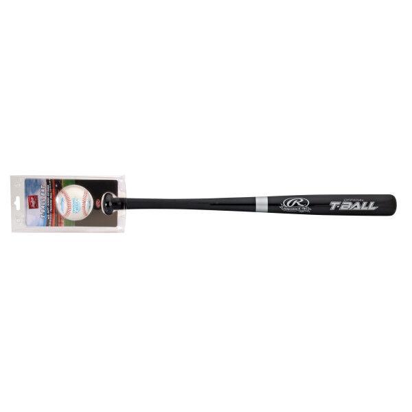 T-Ball Wood Bat with Training Ball