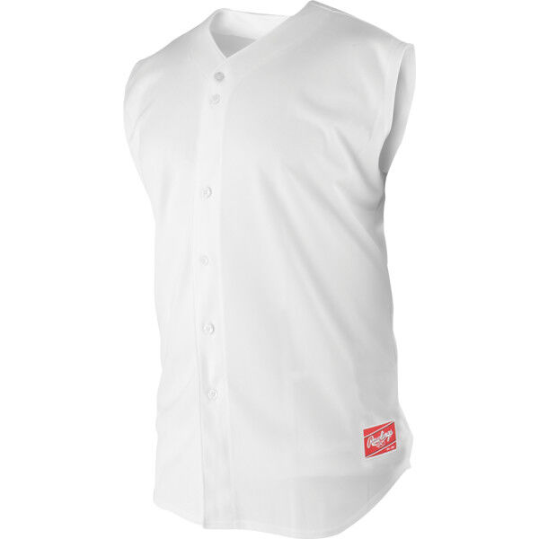 Adult Sleeveless Sleeve Shirt White