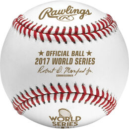 Dozen MLB 2017 World Series Baseballs