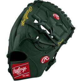 Grey/Green/Gold Custom Glove