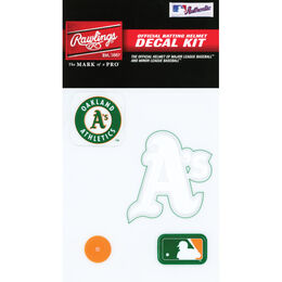 MLB Oakland Athletics Decal Kit