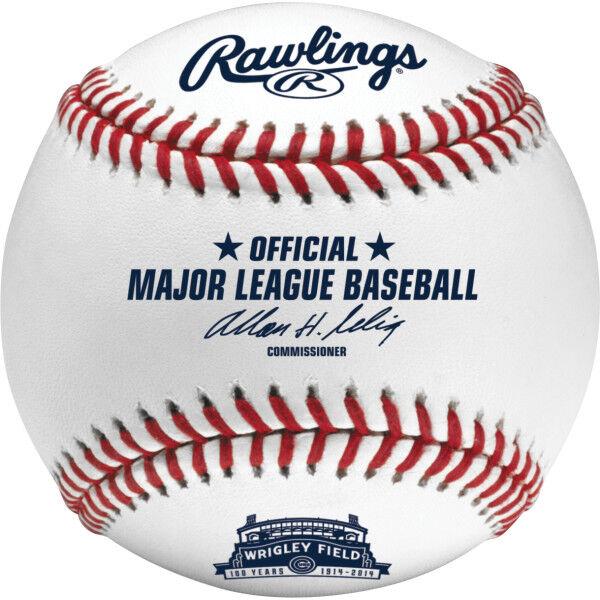 MLB 2014 Wrigley Field Anniversary Baseball