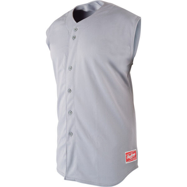 Adult Sleeveless Sleeve Shirt Blue Gray