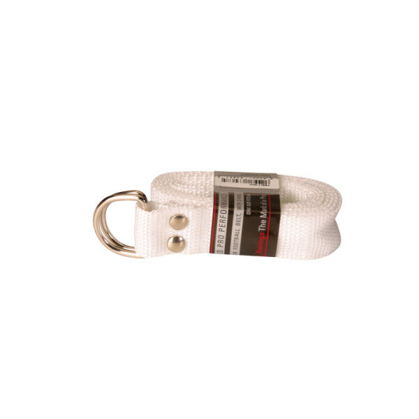 Football Belt White