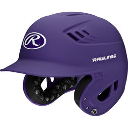 Velo Senior Batting Helmet Purple
