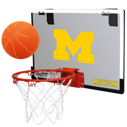 NCAA Michigan Wolverines   Hoop Set