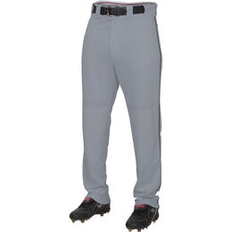 Adult Semi-Relaxed Piped Pant Blue Gray/Black