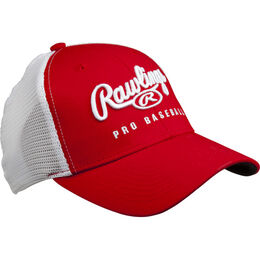 Red/White Trucker Mesh Hat