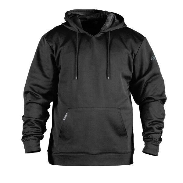 Adult Long Sleeve Hoodie Black