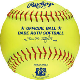 "Babe Ruth Official 12"" Softballs"