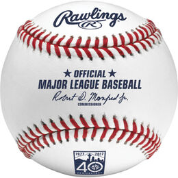 MLB 2017 Seattle Mariners 40th Anniversary Baseball