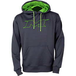 Adult Charcoal-Green Hoodie