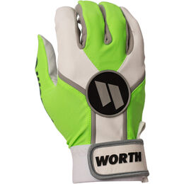 Adult Neon Green Batting Glove