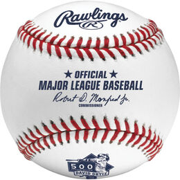 MLB 2015 David Ortiz 500 Career Home Runs Baseballs