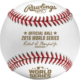 Dozen MLB 2016 World Series Baseballs
