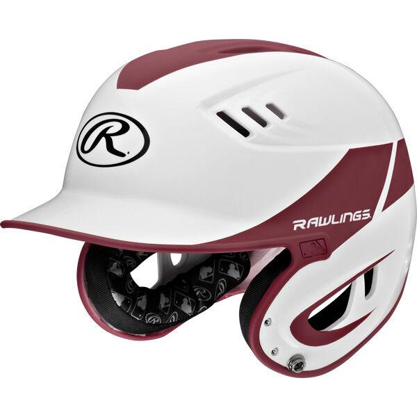 Velo Junior Batting Helmet Maroon
