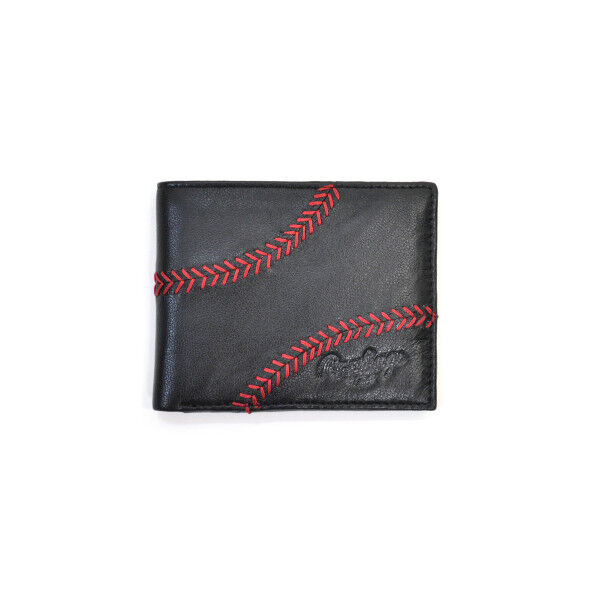 Baseball Stitch Bi-Fold Wallet