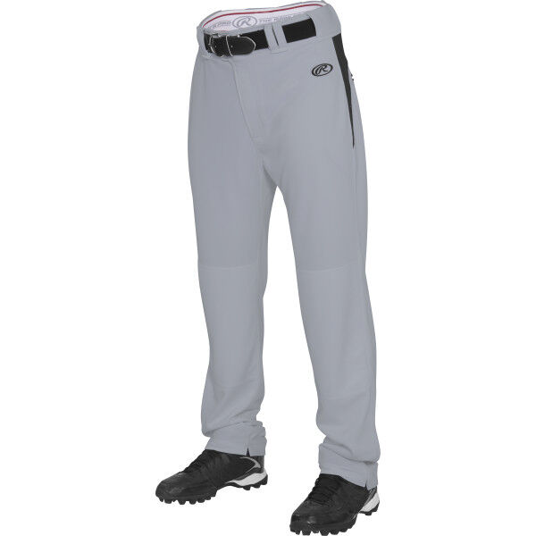 Adult Semi-Relaxed Pant Blue Gray/Black