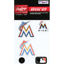 MLB Miami Marlins Decal Kit