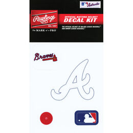 MLB Atlanta Braves Decal Kit