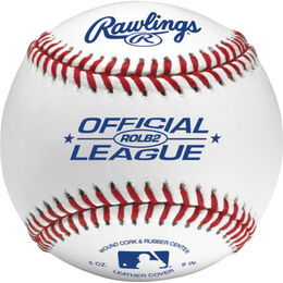 Official League Pitching Machine Baseballs