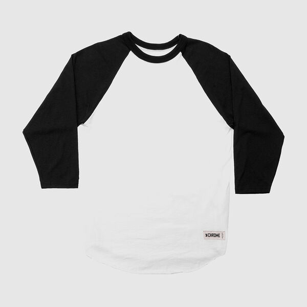 Chrome Baseball Tee